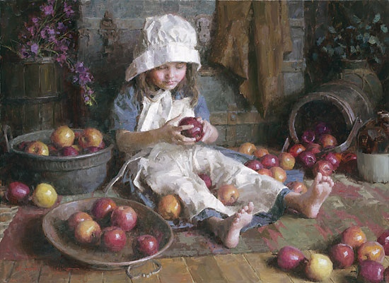 Morgan Weistling Apple Girl