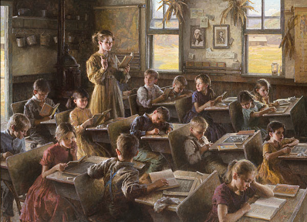 Morgan Weistling Country Schoolhouse