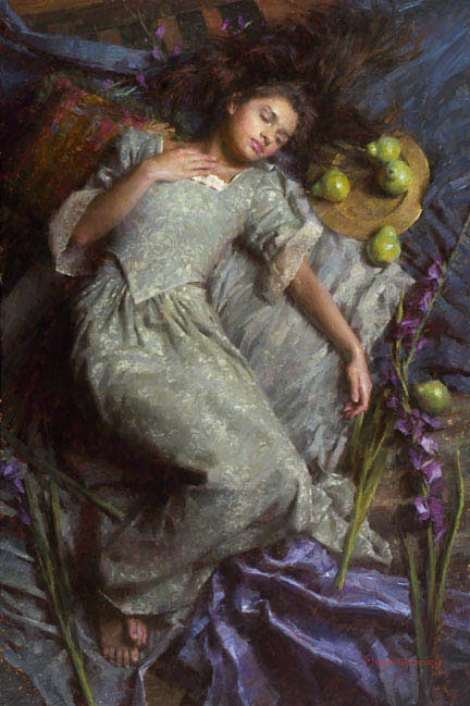 Morgan Weistling Dreams in Blue