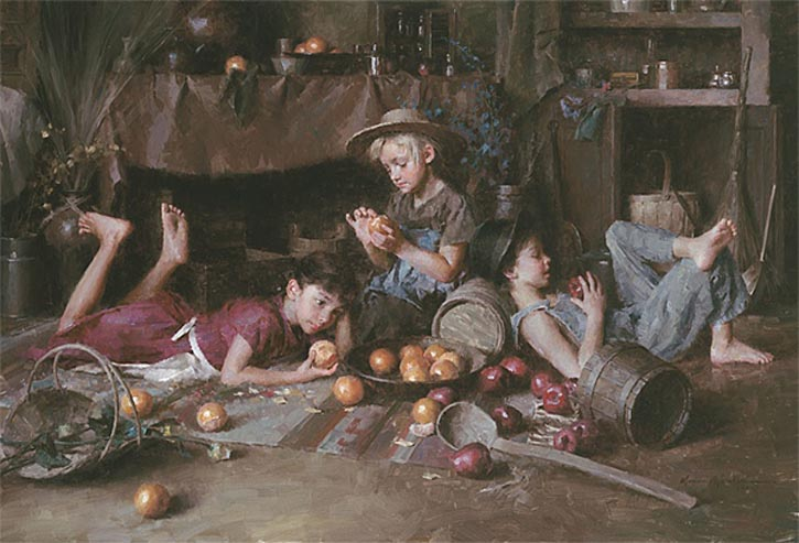 Morgan Weistling Apples and Oranges