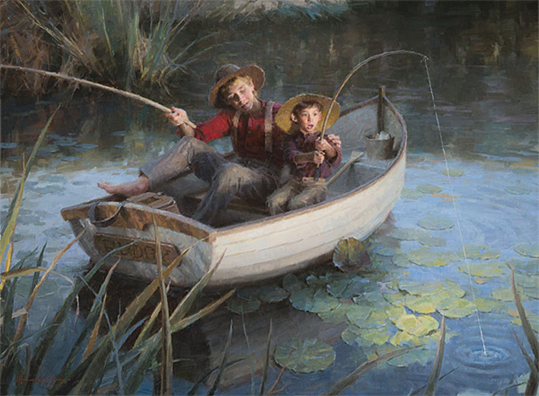 Morgan WEistling The Fishing Hole