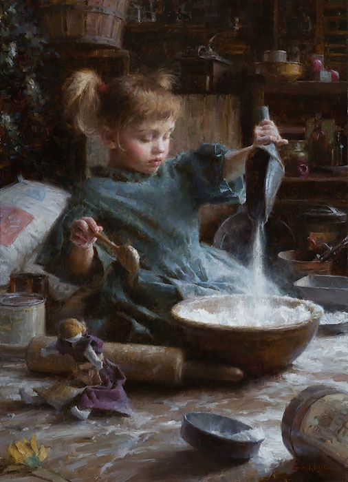 Morgan Weistling Flour Child