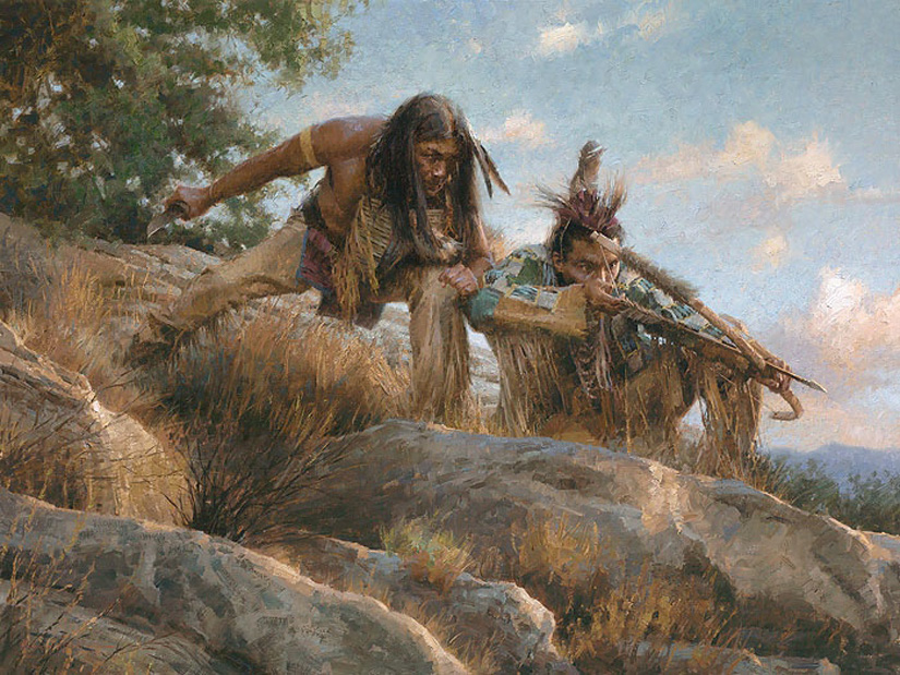 Morgan WEistling Lakota Hunters