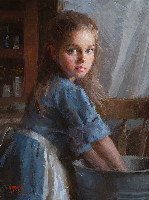 Morgan Weistling Laundy Girl