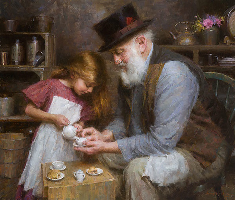 Morgan Weistling Papa's Tea