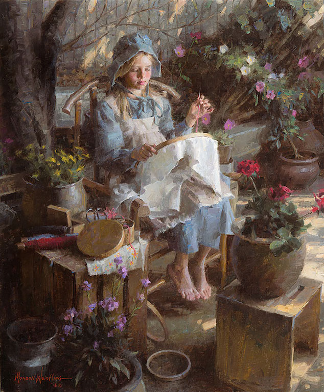 Morgan Weistling The Needlepoint Artist