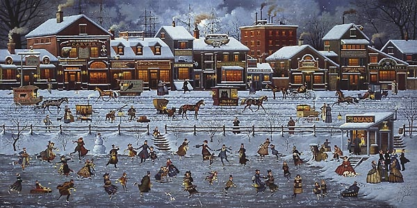 Charles Wysocki Bostonians and Beans